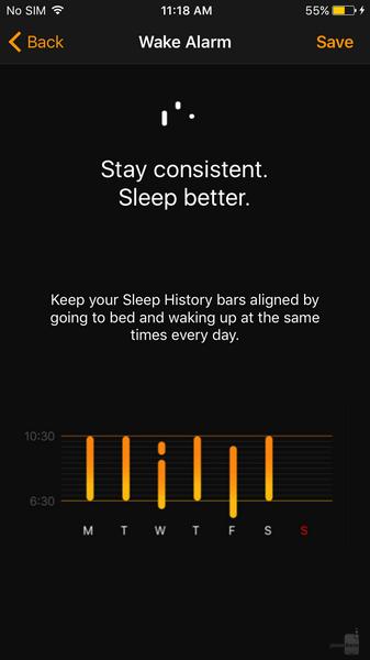 iOS10 時計 ダークモード