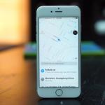 iOS10 マップ