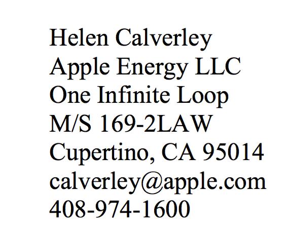 Apple Energy