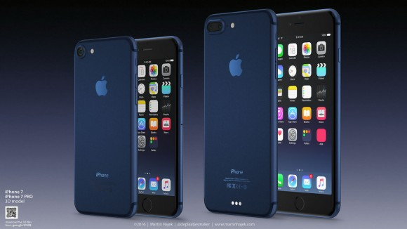 iPhone7 ディープブルー