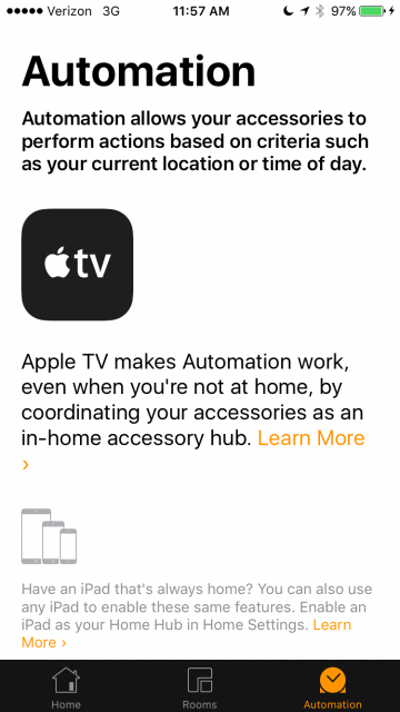 HomeKit iPad Apple TV Home
