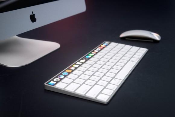 oled magic keyboard タッチバー コンセプトイメージ