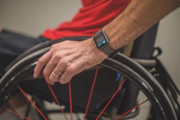 watchOS wheelchair