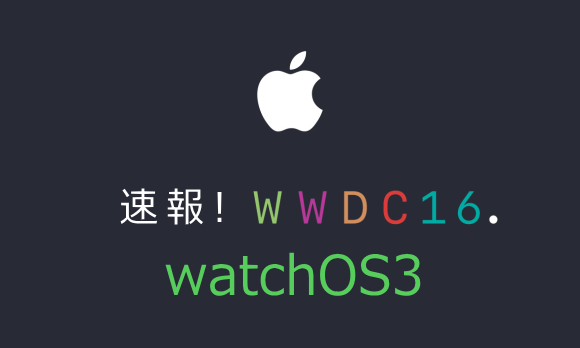 WWDC Watch OS