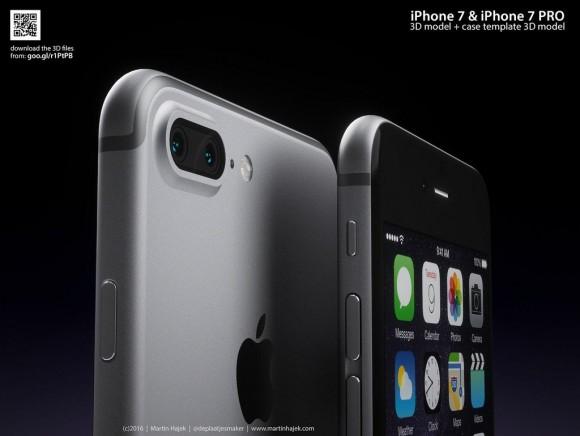 iPhone7 Plus コンセプト画像