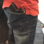 iPhoneケース 銃