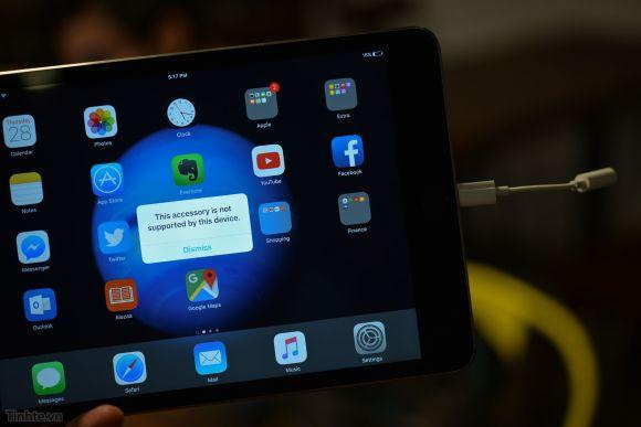 Lightning ヘッドフォン アダプタ iPhone7