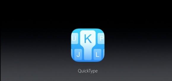 QuickType iPhone7 iOS10