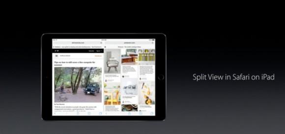 Safari iPad Split View iOS10 iPhone7