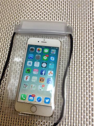 【100均】iPhoneの防滴ケースレビュー