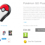 Pokémon GO Plus Nintendo UK Store