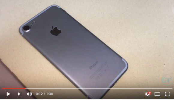 iPhone7 モックアップ