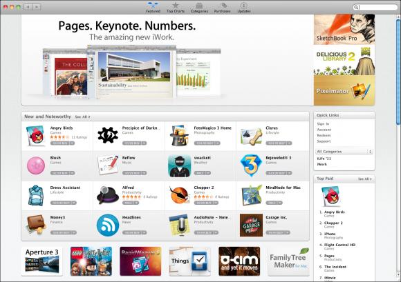 mac app store os x
