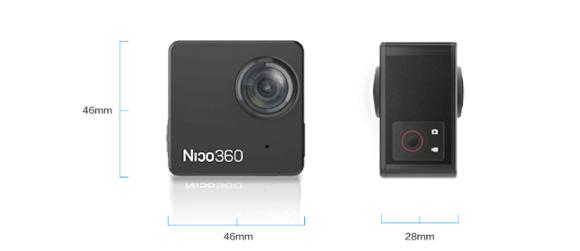 Indiegogo Nico360 360度 カメラ