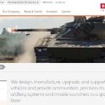 BAE SystemsのWebページ