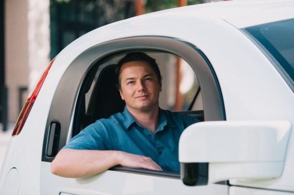 Google 自動運転車 クリス・アームソン氏