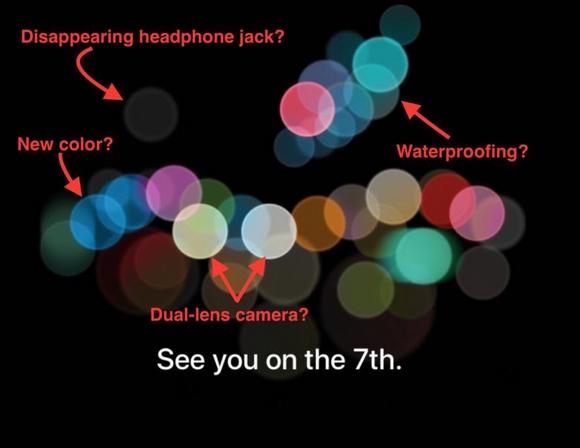 Appleスペシャルイベントの招待状