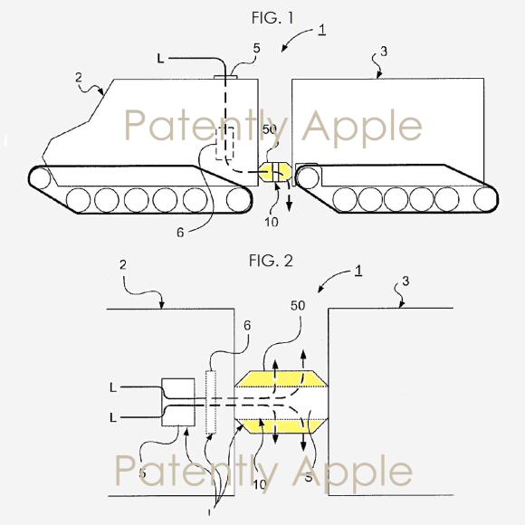 Apple 特許 連結車両用操舵装置