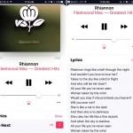 apple music 歌詞 ios10