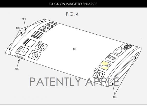 iphone8 特許 ガラス 曲面ディスプレイ