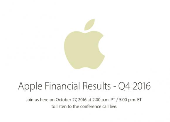 Apple 決算