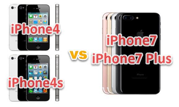 iPhone4 iPhone4s iPhone7 iPhone7 Plus