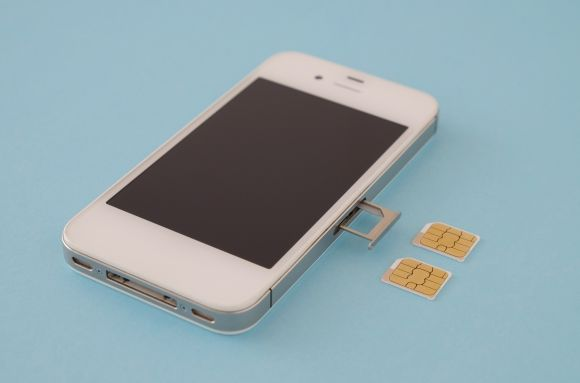 iPhone SIM フリー素材