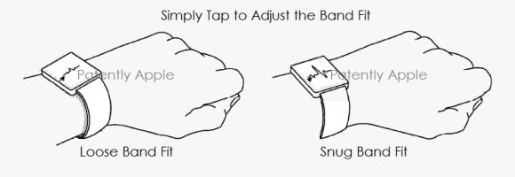 Apple Watch バンド自動調整 特許