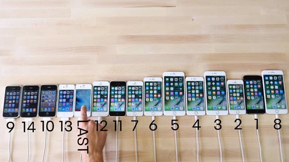 歴代iPhone iPhone7 比較 YouTube
