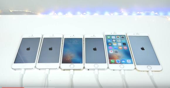 起動時間 iPhone5 iPhone5s iPhone6