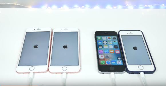 起動時間 iPhone6s iPhone SE