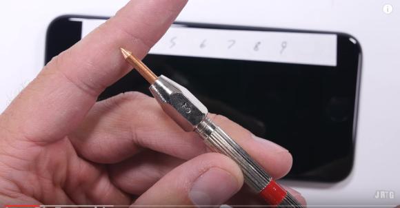 iPhone7 ブラック 耐久性 実験