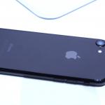 iPhone7/7 Plus ジェットブラック