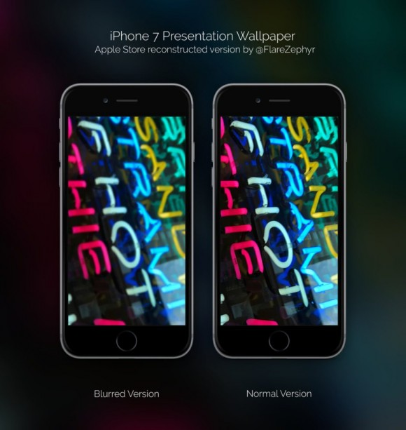 iphone7公式画像の壁紙が公開 発売前に 7 気分 iphone mania