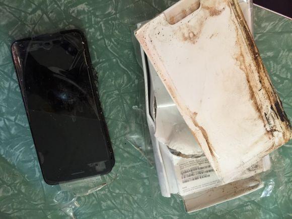iPhone7 爆発