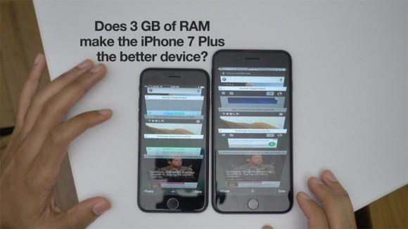 RAM test iphone7/7plus