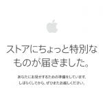 Apple ストア メンテナンス