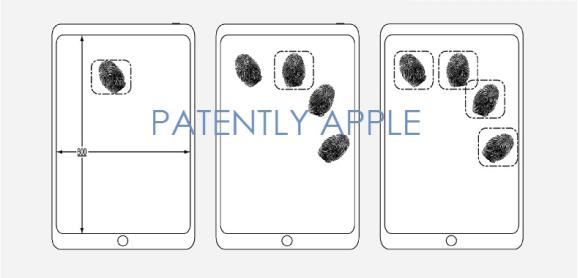 Apple 特許 Touch ID