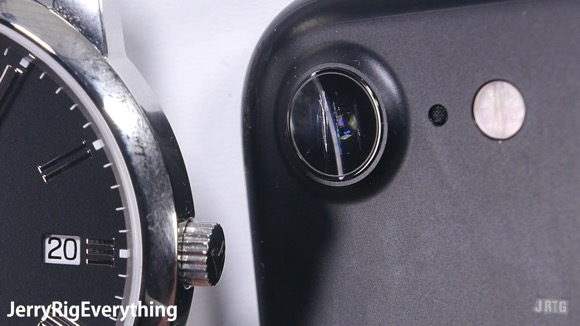iPhone7 カメラレンズ サファイア