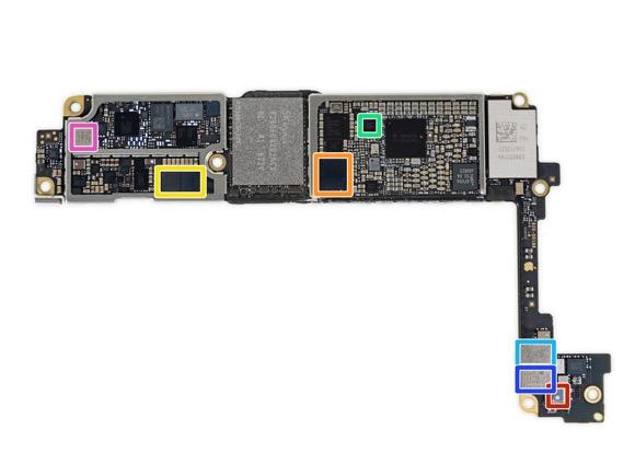 iPhone7 iFixit 分解