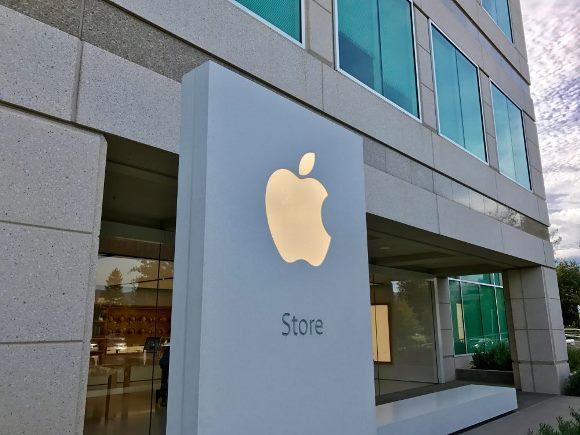 Apple 本社 ストア