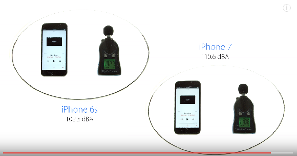 iPhone7 音量 比較3