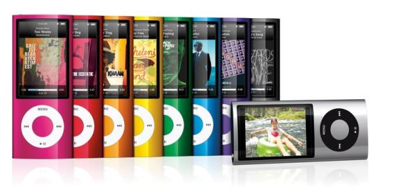 iPod Nano (fifth generation) 2009
