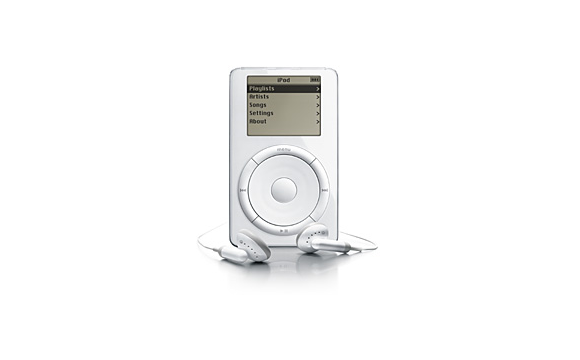 iPod (first generation) 2001