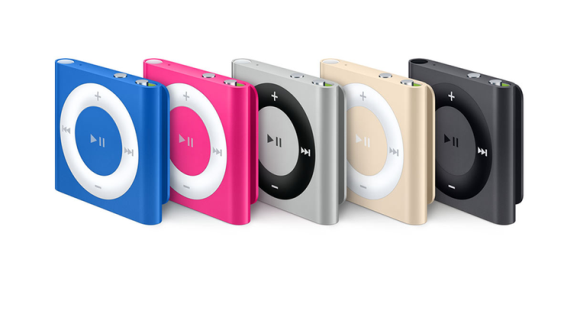 iPod Shuffle (fourth generation) 2010