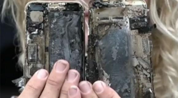 iPhone7 発火