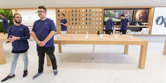 iphone セキュリティ apple store