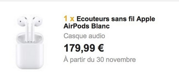 AirPods Fnac