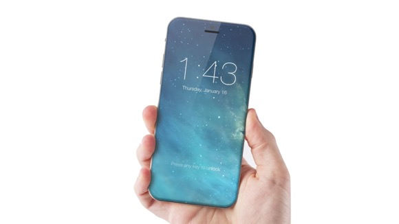 iPhone ベゼルレス コンセプト