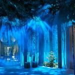Claridges クリスマスツリー